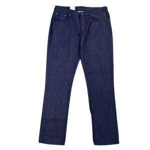 Nudie Jeans Grim Tim Dry Indigo Organic 38x34 NEW
